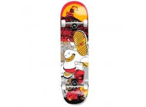 Skateboard Completo Pop-One II Red 7.5""