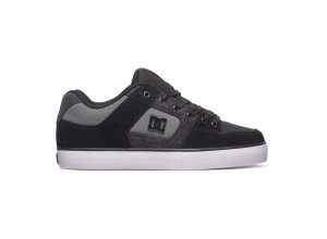 Scarpe DC pure se black/destroy/wash