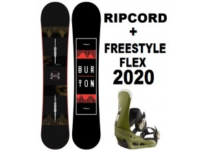 BURTON RIPCORD + ATT.FREESTYLE 2020
