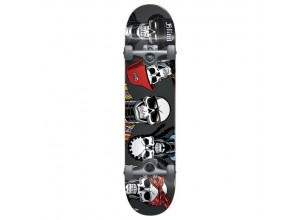 """Skateboard Completo Reaper Rappers Charcoal 7.75"""""""